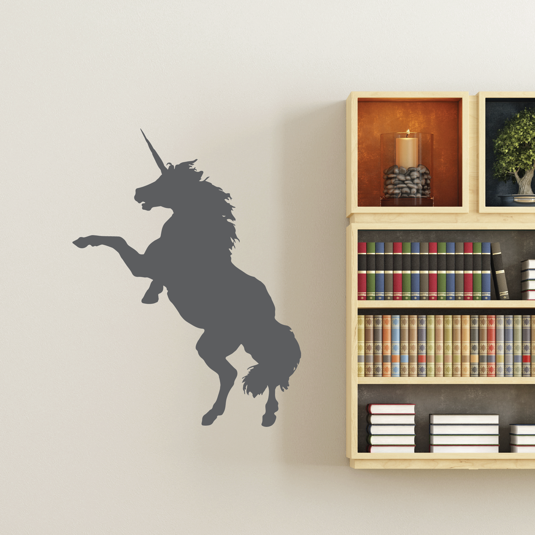 funky wall art funky unicorn wall quotes wall decal wallquotes 1128