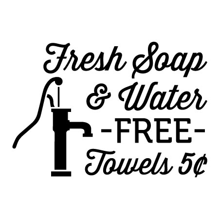 fresh soap & water wall quotes™ decal   wallquotes