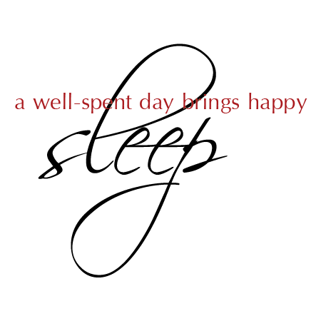 A Well Spent Day Wall Quotes Decal Wallquotescom
