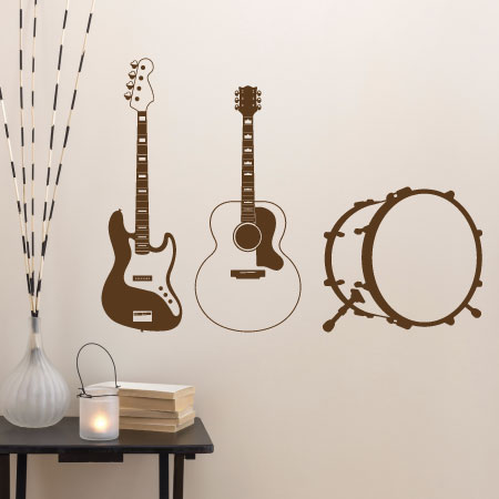 Time To Jam Wall Quotes™ Wall Art Decal | WallQuotes.com