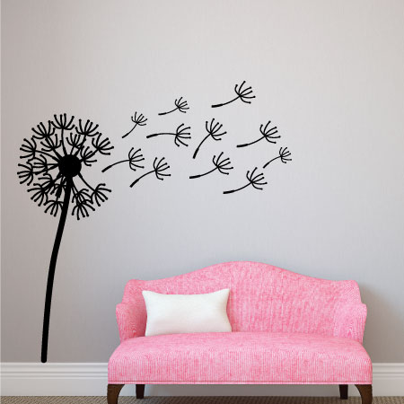 oversized dandelion wall quotes™ wall art   wallquotes