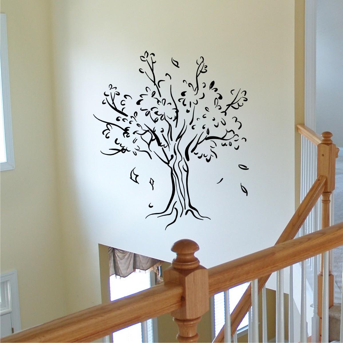 Tree  for Wall Sticker Tree Silhouette  153tgx