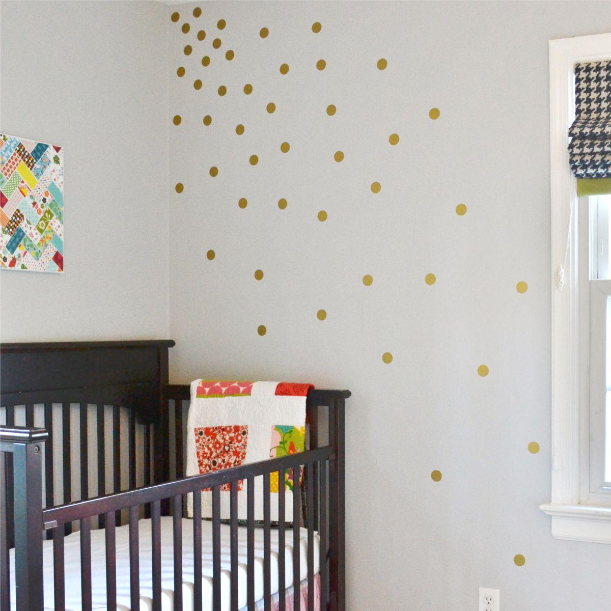 Polka Dot Wall Decals Kit Wallquotes Com