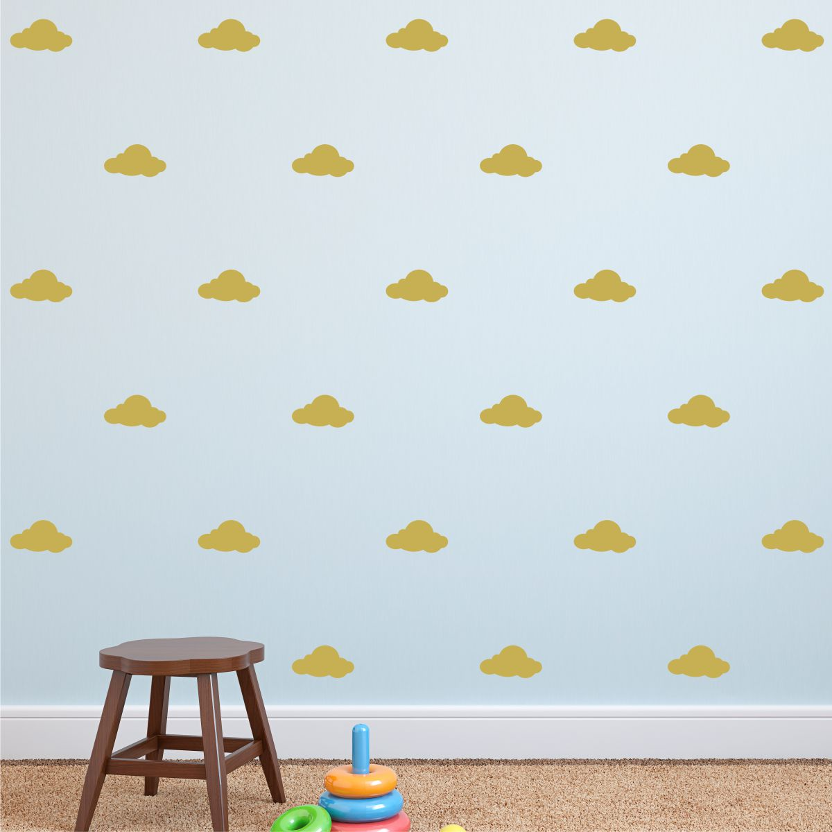 Clouds Wall Quotes Wall Art Decal Kit WallQuotescom - Nursery wall decals clouds