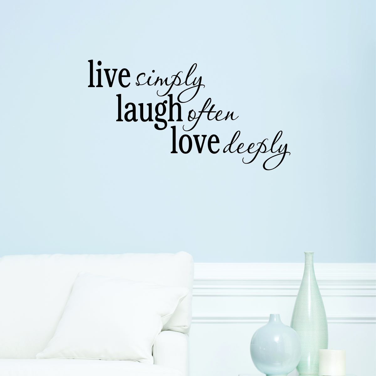 Live Love And Laugh Quotes: Live Laugh Love Passions Wall Quotes™ Decal