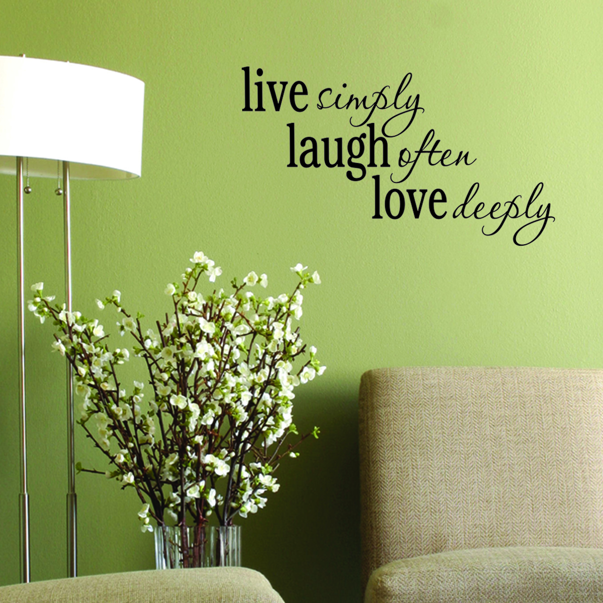Live Laugh Love Wall Quotes Decal