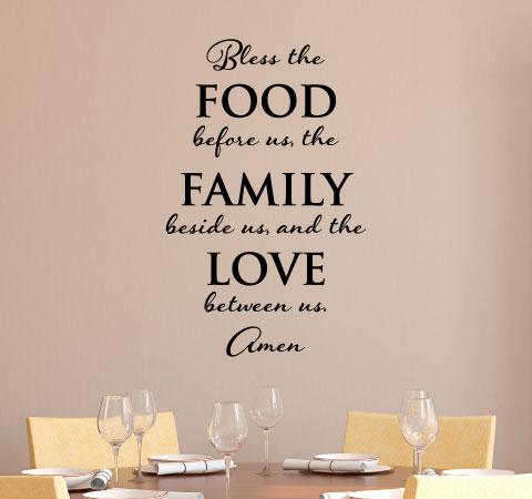 Bless The Food Before Us Family Beside And Love Between