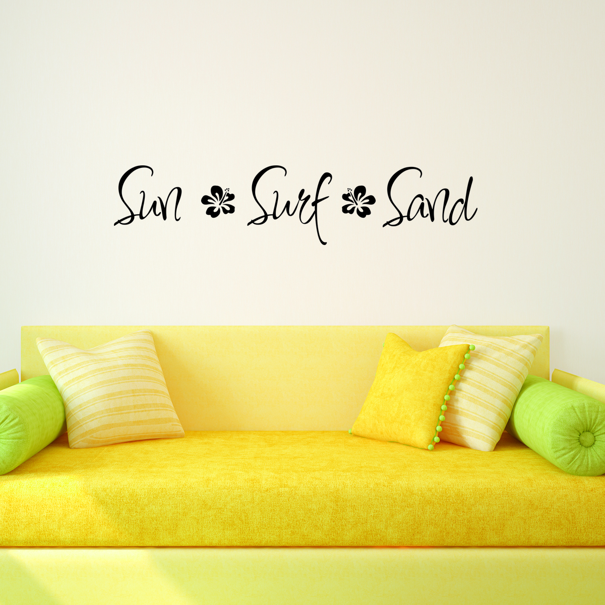 Sand Surf Sun Wall Quotes™ Decal | WallQuotes.com