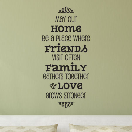 Where Love Grows Stronger Wall Quotes Decal Wallquotes Com