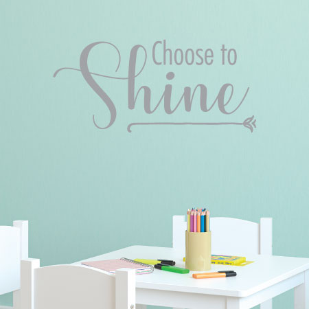 shining inspiration soccer furniture. Choose to Shine wall quotes vinyl decal bright happy inspiration motivation Wall Quotes  Decal WallQuotes com