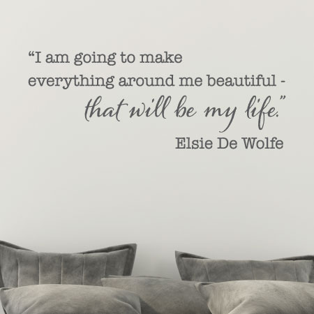 Make Everything Around Me Beautiful Wall Quotes™ Decal ...