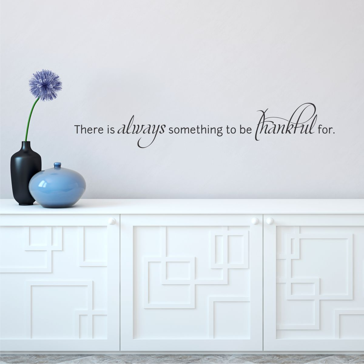 Always Be Thankful Wall Quotes™ Decal