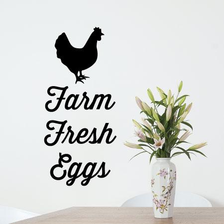 Farm Fresh Eggs Wall Quotes™ Decal   WallQuotes.com