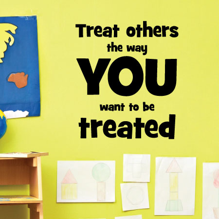 Treat Others Wall Quotes Decal Wallquotescom
