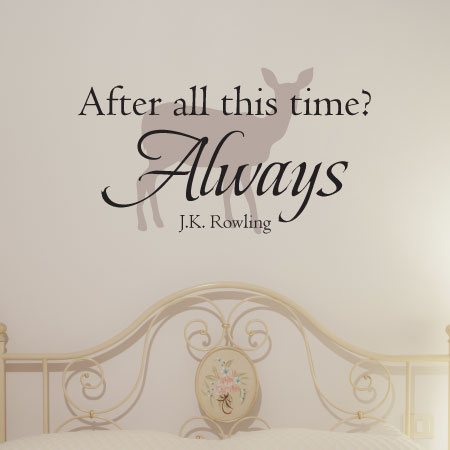 after all this time patronus wall quotes™ decal | wallquotes