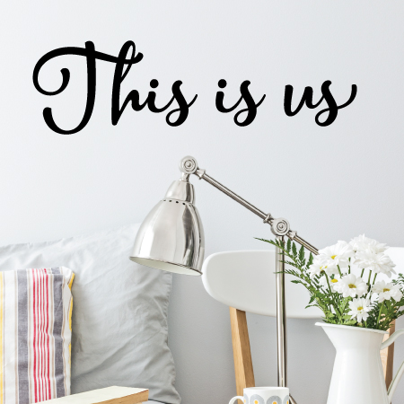 this is us wall quotes™ decal | wallquotes