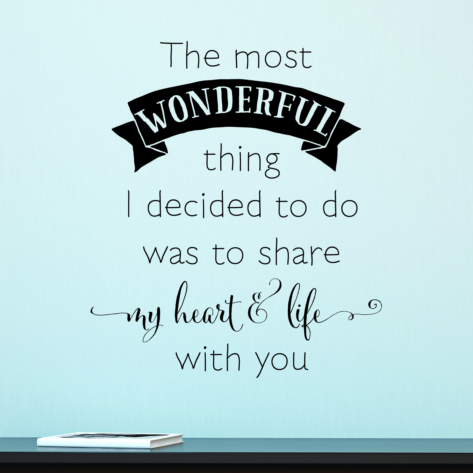 Share My Heart Life Wall Quotes Decal Wallquotescom