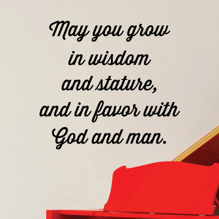 May You Grow In Wisdom Wall Quotes Decal Wallquotes Com