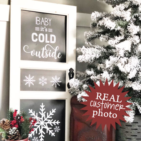 Baby It\'s Cold Outside Wall Quotes™ Decal | WallQuotes.com