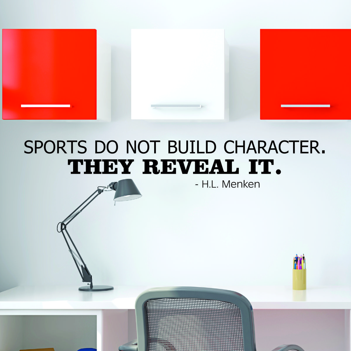"""""""Sports do not build character. They reveal it"""" — Heywood Hale Broun, sportscaster"""