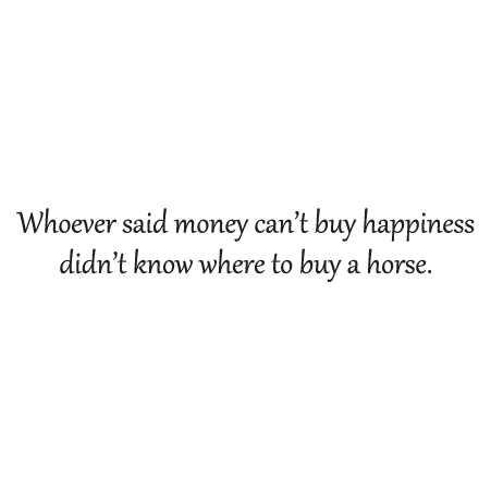 Money Cant Buy Happiness Wall Quotes Decal Wallquotescom