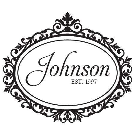 Johnson Family Name Design Wall Quotes 173 Decal