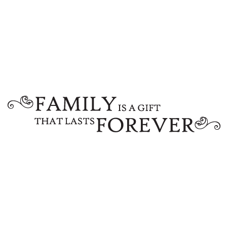 Family Is Forever Quotes Interesting A Gift That Lasts Forever Wall Quotes™ Decal  Wallquotes