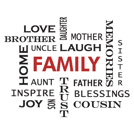 family crossword design wall quotes decal wallquotes
