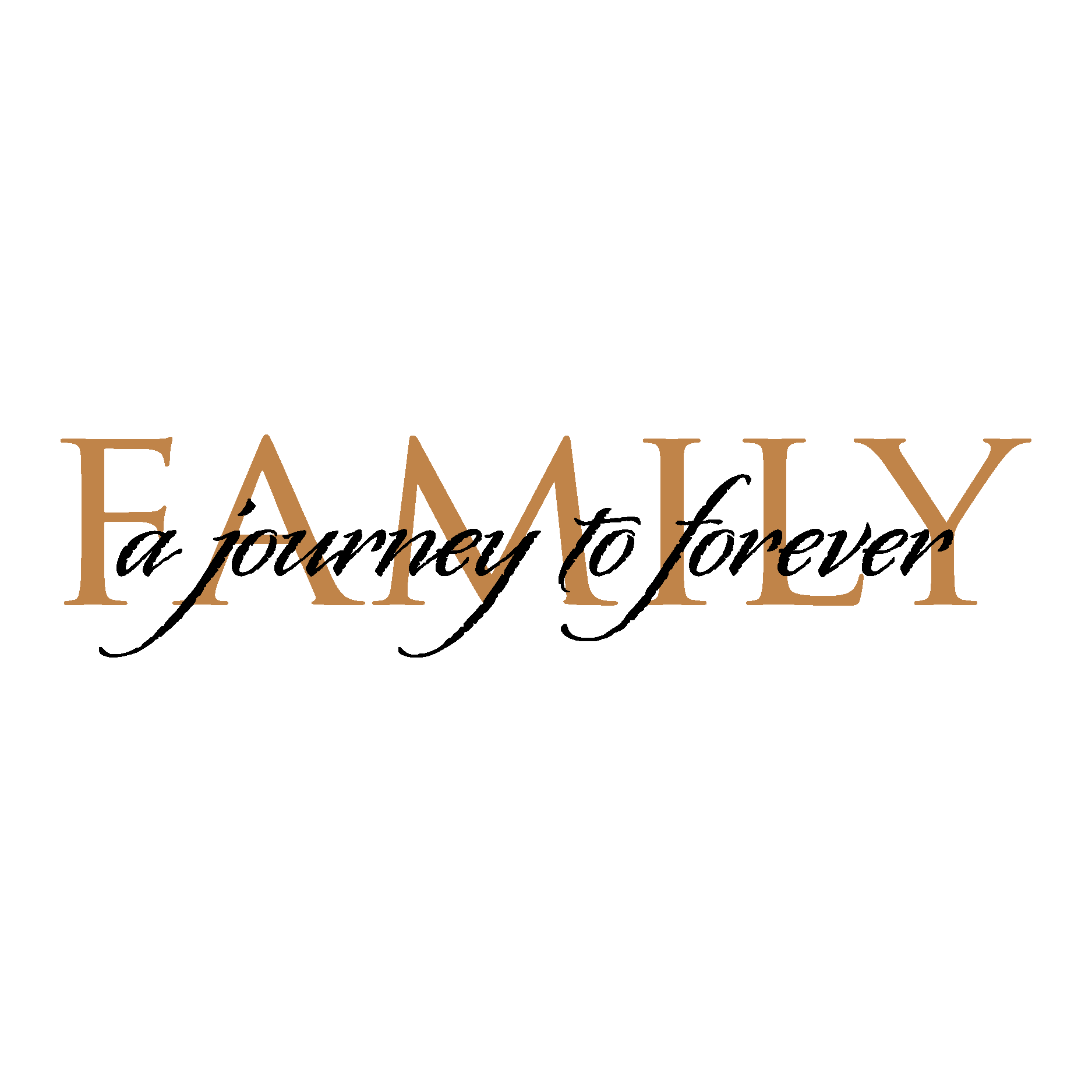 Family Is Forever Quotes Journey To Forever Classic Wall Quotes™ Decal  Wallquotes