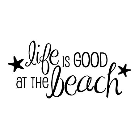 Life Is Good At The Beach Starfish