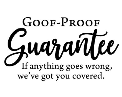 WallQuotes.com Goof Proof Guarantee