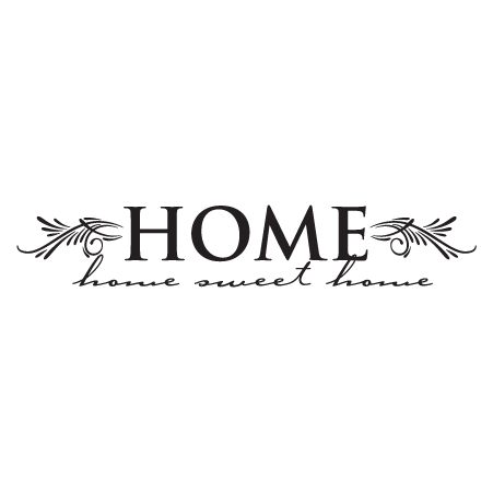 Home Sweet Wall Quotes Decal