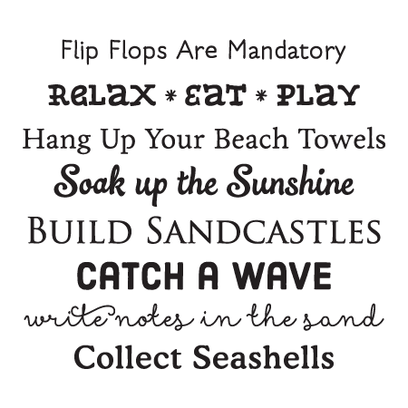 Beach House Rules Wall QuotesTM Decal Great For Any Home