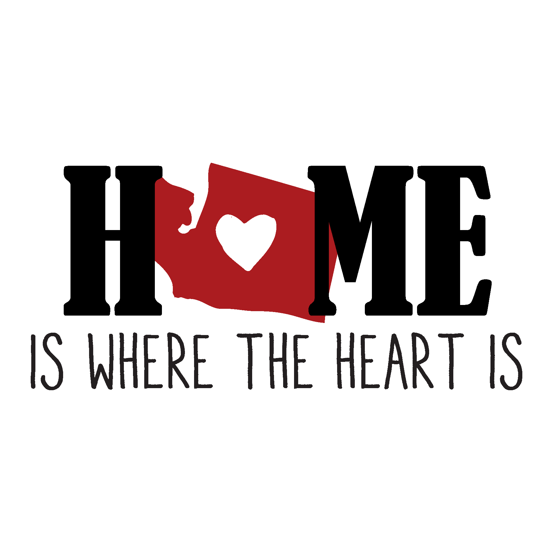 Home Is Where The Heart Is Quote Home Is Where The Heart Is Wall Quotes™ Decal  Wallquotes