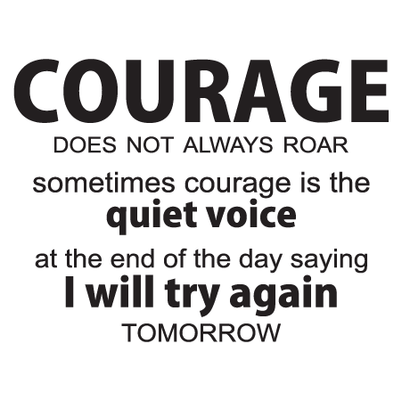 Try Again Tomorrow Wall Quotes Decal Wallquotescom