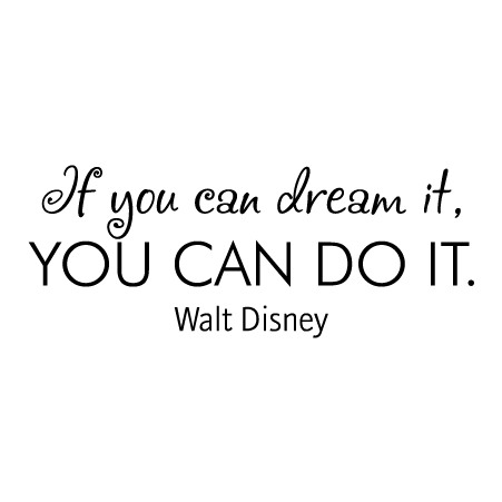 Dream It Do It Wall Quotes Decal Wallquotes Com
