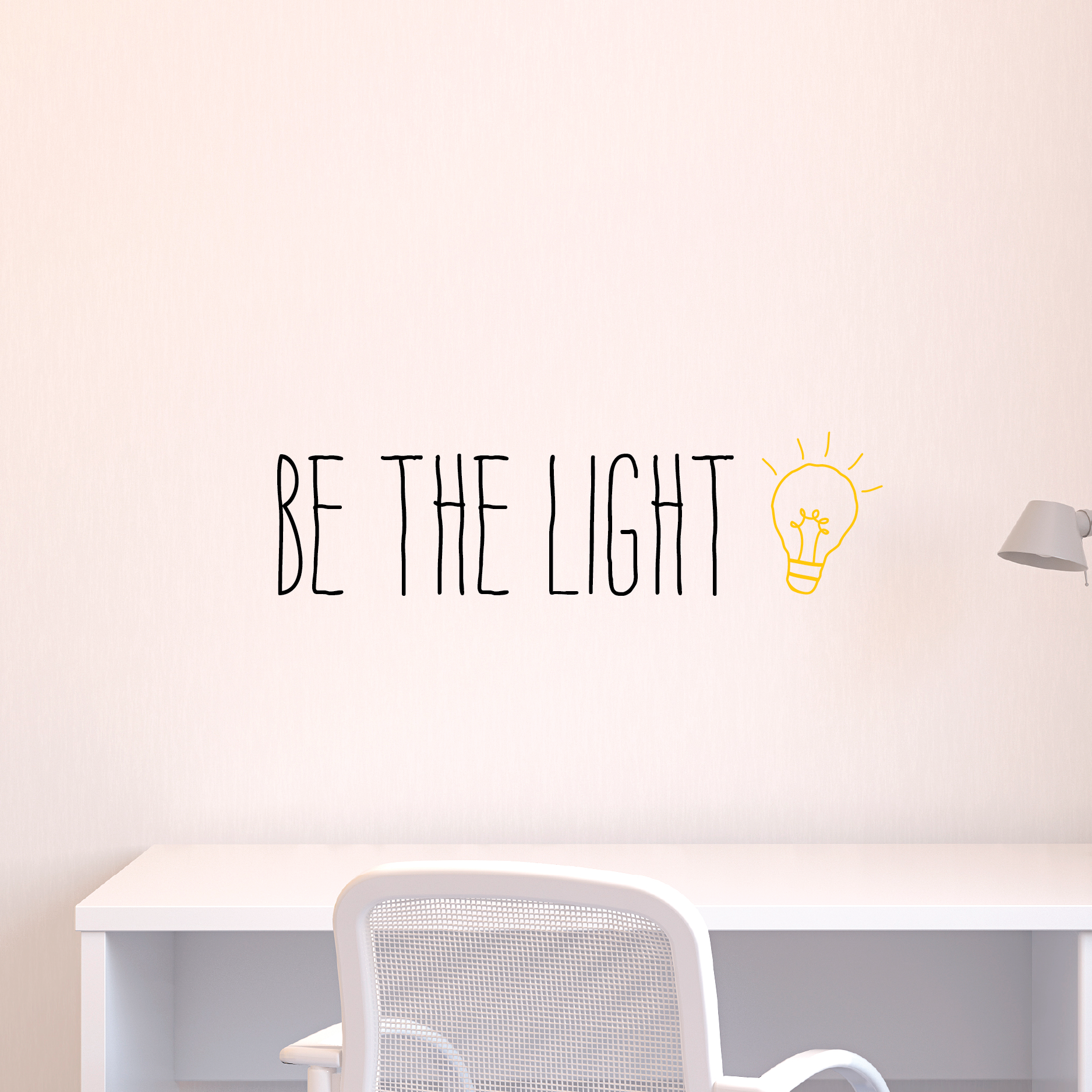 Light Quotes Whimsy Be The Light Wall Quotes™ Decal  Wallquotes