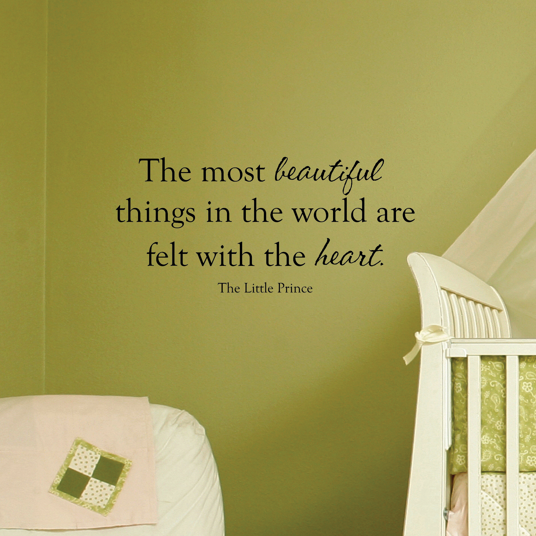 Most Beautiful Things Wall Quotes Decal Wallquotes Com