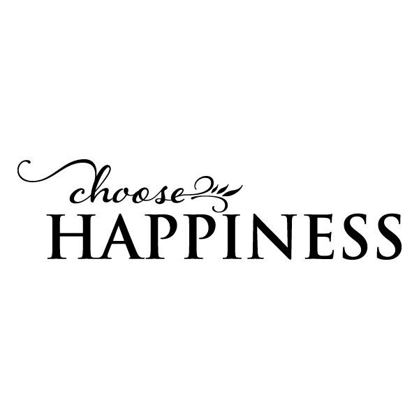 Choose Happiness Wall Quotes Decal Wallquotes Com