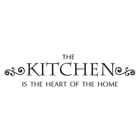 Kitchen Heart Of Home Wall Quotes Decal Wallquotes Com