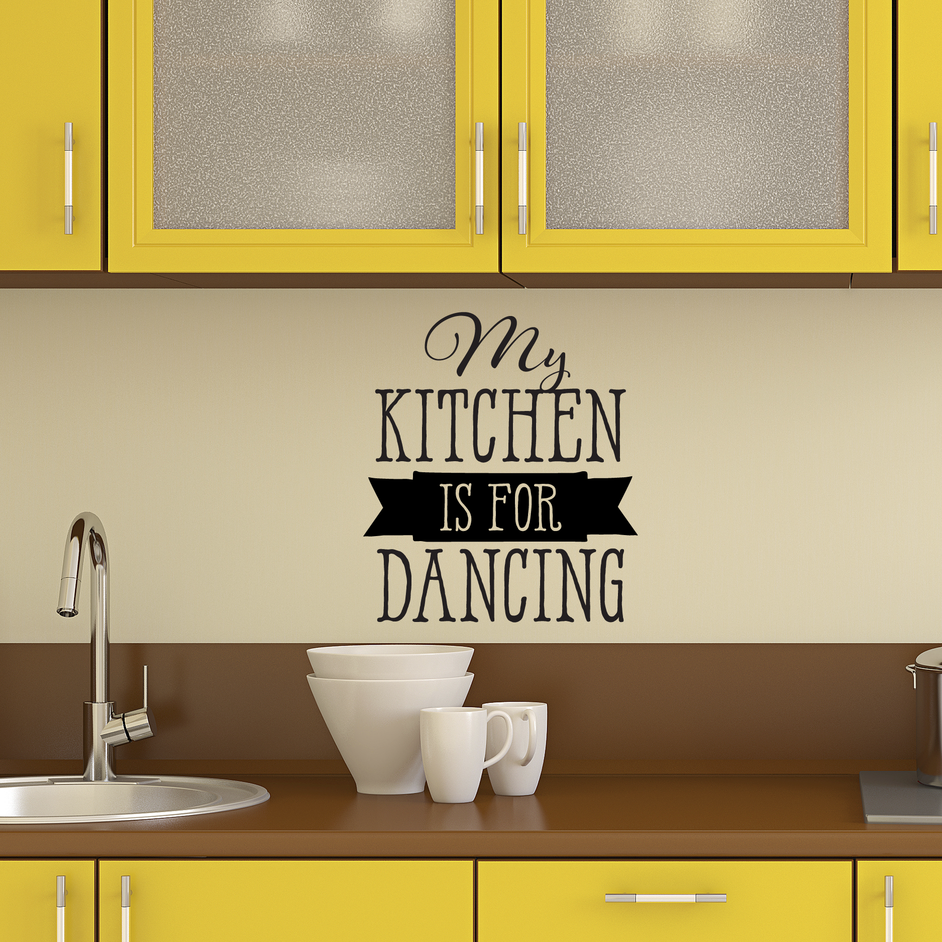 My Kitchen Is For Dancing Wall Quotes™ Decal | WallQuotes.com for Wall Sticker Quotes Png  14lpgtk