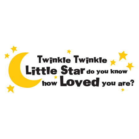 Twinkle Twinkle Wall Quotes Decal Wallquotes Com