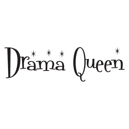 Drama Queen Wall Quotes™ Decal   WallQuotes.com