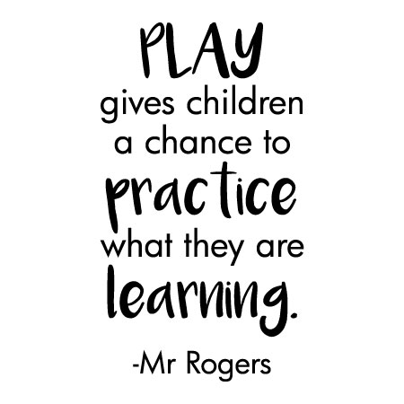 Play Is Practice Wall Quotes Decal Wallquotes Com