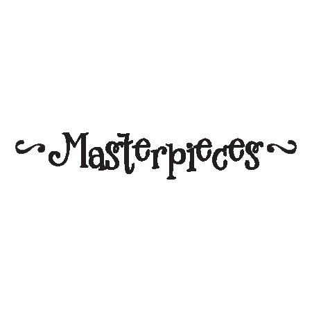 Masterpieces Vinyl Decal
