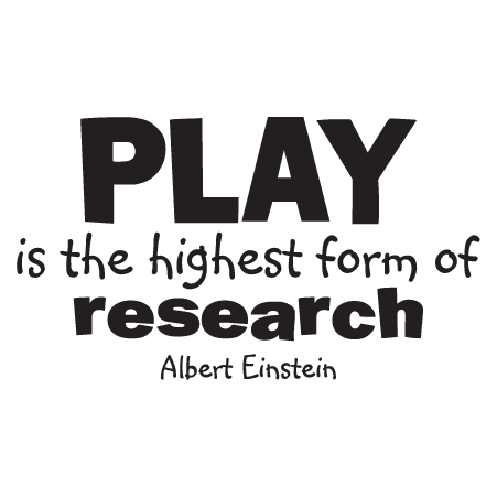 Quotes About Play Awesome Play Is Research Wall Quotes™ Decal  Wallquotes