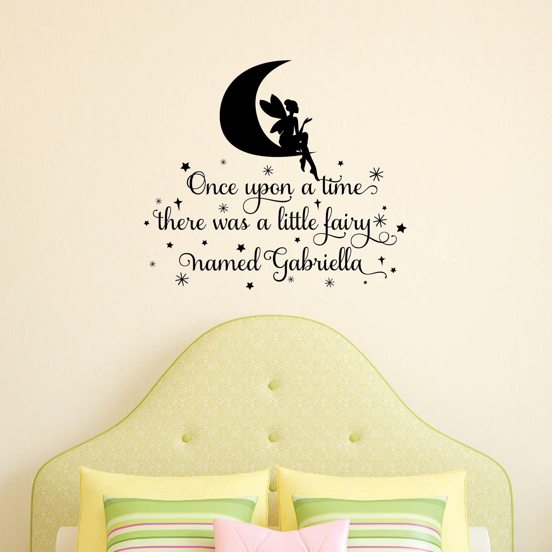 Fairy Named Wall Quotes Decal Wallquotes Com