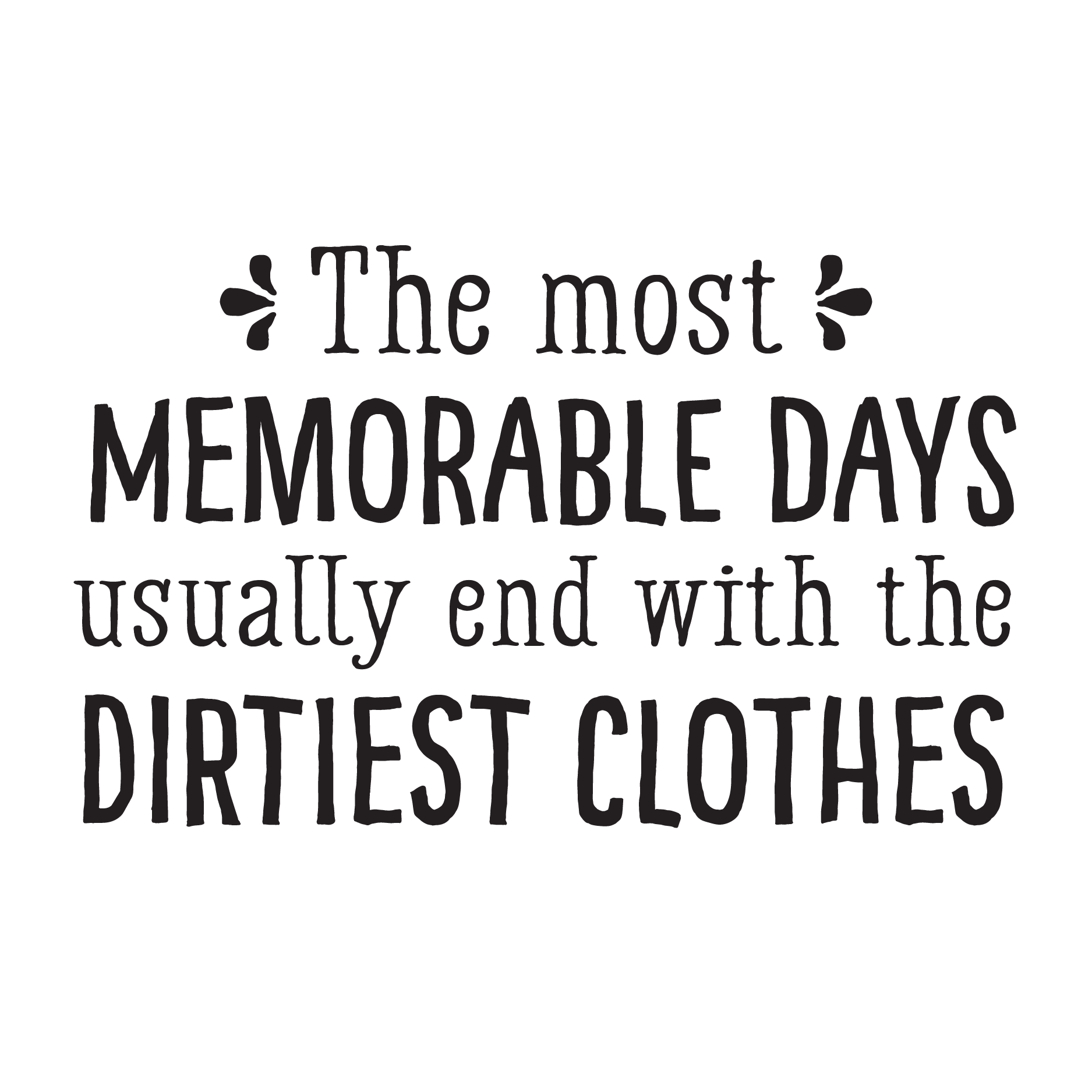 Memorable Quotes Whimsical Memorable Days Wall Quotes™ Decal  Wallquotes