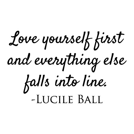Love Yourself First Quotes Love Yourself First Wall Quotes™ Decal | WallQuotes.com Love Yourself First Quotes