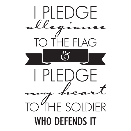 I Pledge Allegiance Wall Quotes Decal Wallquotes Com